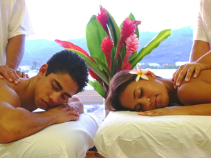 couples massage St Thomas US Virgin Islands