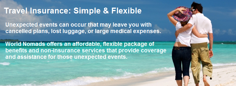 travel insurance simple flexible