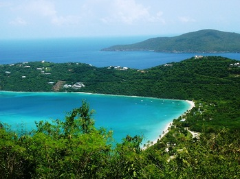 Magens Bay Beach, St. Thomas Villa Vacation Rental