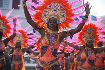 Adults' Parade, Carnival, St. Thomas, U.S. Virgin Islands