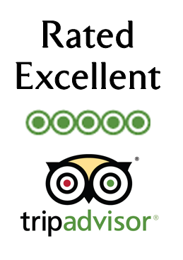 Rated excellent on TripAdvisor